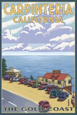 Carpinteria, California - Coastal Scene by Lantern Press