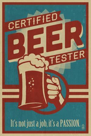Certified Beer Tester by Lantern Press