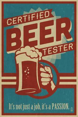 Certified Beer Tester by Lantern Press