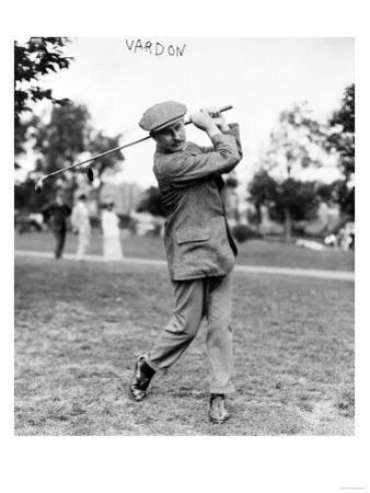 Champion Golfer Harry Vardon Photograph