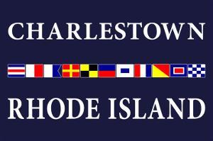 Charlestown, Rhode Island - Nautical Flags by Lantern Press