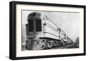 "Chesapeake & Ohio Railroad ""500"" Locomotive Engine by Lantern Press"