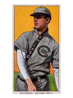 Chicago, IL, Chicago Cubs, Ed Reulbach, Baseball Card by Lantern Press