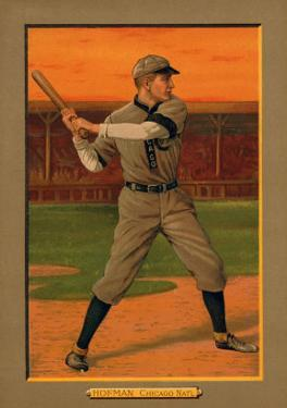 Chicago, IL, Chicago Cubs, Solly Hofman, Baseball Card by Lantern Press