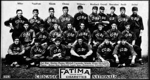 Chicago, IL, Chicago Cubs, Team Photograph, Baseball Card by Lantern Press
