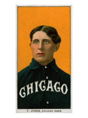 Chicago, IL, Chicago White Sox, Fielder Jones, Baseball Card by Lantern Press
