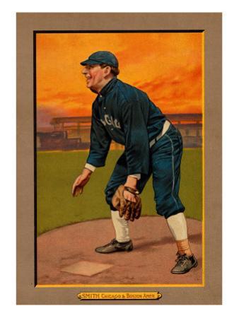 Chicago, IL, Chicago White Sox, Frank Smith, Baseball Card by Lantern Press