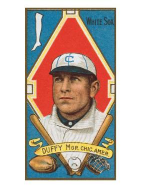 Chicago, IL, Chicago White Sox, Hugh Duffy, Baseball Card by Lantern Press