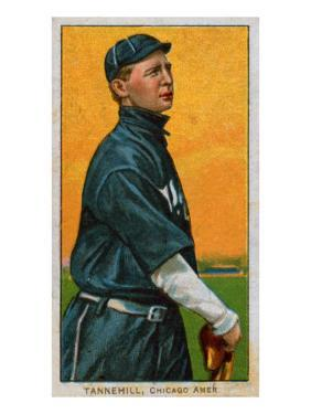 Chicago, IL, Chicago White Sox, Lee Tannehill, Baseball Card by Lantern Press