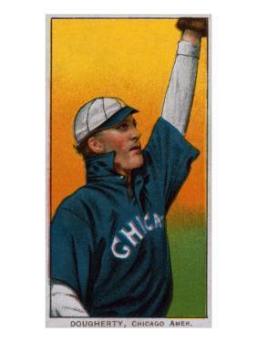 Chicago, IL, Chicago White Sox, Patsy Dougherty, Baseball Card by Lantern Press