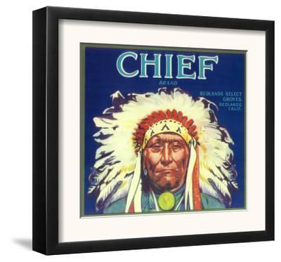 Chief Orange Label - Redlands, CA by Lantern Press