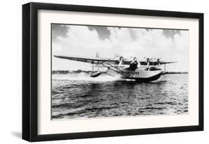 China Clipper flying out of Miami, Fl Photograph - Miami, FL by Lantern Press