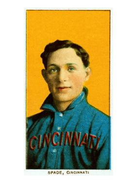 Cincinnati, OH, Cincinnati Reds, Bob Spade, Baseball Card by Lantern Press