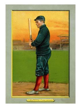 Cincinnati, OH, Cincinnati Reds, Clark Griffith, Baseball Card by Lantern Press