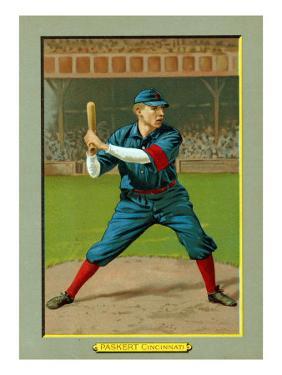 Cincinnati, OH, Cincinnati Reds, Dode Paskert, Baseball Card by Lantern Press