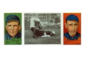 Cincinnati, OH, Cincinnati Reds, George Suggs, John R. McLean, Baseball Card by Lantern Press
