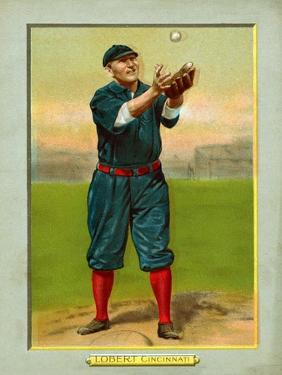 Cincinnati, OH, Cincinnati Reds, Hans Lobert, Baseball Card by Lantern Press