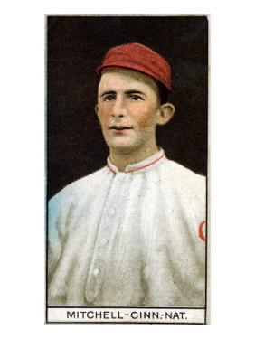 Cincinnati, OH, Cincinnati Reds, Mike Mitchell, Baseball Card by Lantern Press