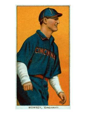 Cincinnati, OH, Cincinnati Reds, Mike Mowrey, Baseball Card by Lantern Press