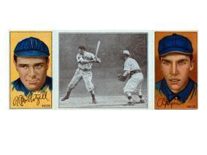Cincinnati, OH, Cincinnati Reds, R. Hoblitzel, Richard J. Egan, Baseball Card by Lantern Press