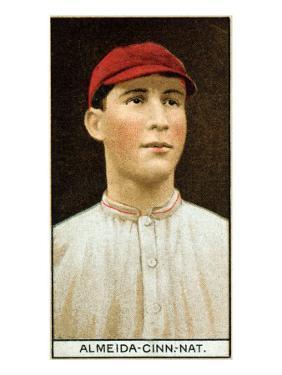 Cincinnati, OH, Cincinnati Reds, Rafael Almeida, Baseball Card by Lantern Press