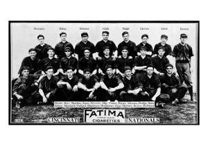 Cincinnati, OH, Cincinnati Reds, Team Photograph , Baseball Card by Lantern Press