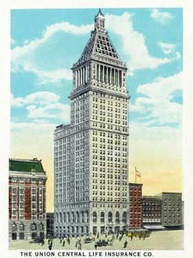 Cincinnati, Ohio - Union Central Life Insurance Co Building Exterior by Lantern Press