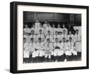 Cincinnati Reds Team, Baseball Photo - Cincinnati, OH by Lantern Press