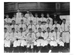 Cincinnati Reds Team, Baseball Photo - Cincinnati, OH by Lantern Press