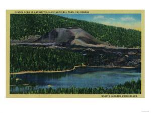 Cinder Cone in Lassen Volcanic National Park - Mt. Lassen by Lantern Press