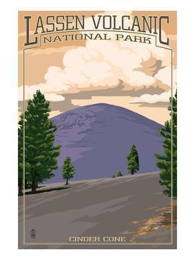 Cinder Cone - Lassen Volcanic National Park, CA by Lantern Press