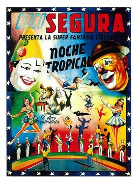 Circo Segura Circus by Lantern Press