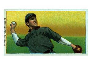 Cleveland, OH, Cleveland Naps, Joe Birmingham, Baseball Card by Lantern Press
