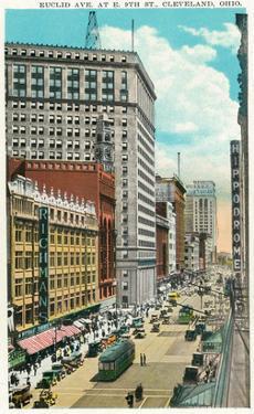 Cleveland, Ohio - Euclid Avenue, Hippodrome Exterior by Lantern Press
