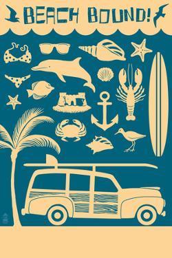 Coastal Icons by Lantern Press