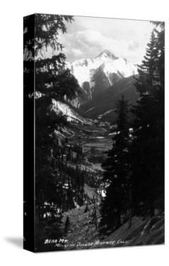 Colorado - Bear Mountain from Million Dollar Hwy by Lantern Press