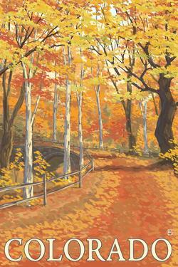 Colorado - Fall Colors Scene by Lantern Press