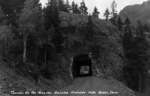 Colorado - Million Dollar Highway Tunnel near Ouray by Lantern Press