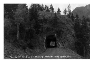 Colorado - Million Dollar Highway Tunnel near Ouray by Lantern Press