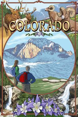 Colorado - Montage by Lantern Press