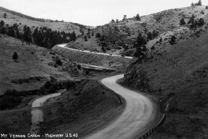 Colorado - Mt Vernon Canyon from Hwy 40 by Lantern Press