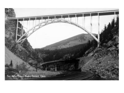 Colorado - New Eagle River Bridge near Red Cliff by Lantern Press