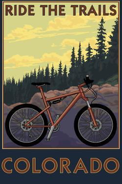 Colorado - Ride the Trails by Lantern Press