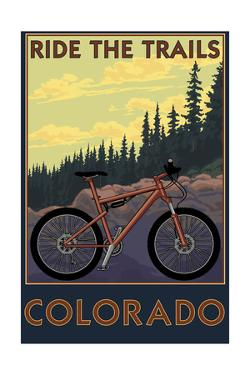 Colorado - Ride the Trails by Lantern Press