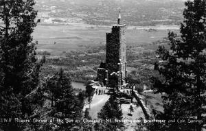 Colorado Springs, Colorado - Shrine of the Sun, Cheyenne Mt with Broadmoor by Lantern Press