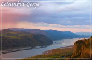 Columbia Gorge and Crown Point by Lantern Press