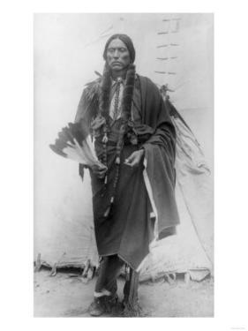 Comanche Chief Quanah Parker Photograph by Lantern Press