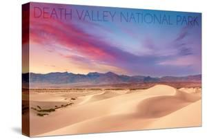 Death Valley National Park - Mesquite Dunes by Lantern Press