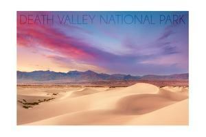 Death Valley National Park - Mesquite Dunes by Lantern Press