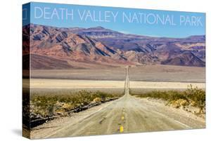 Death Valley National Park - Road by Lantern Press